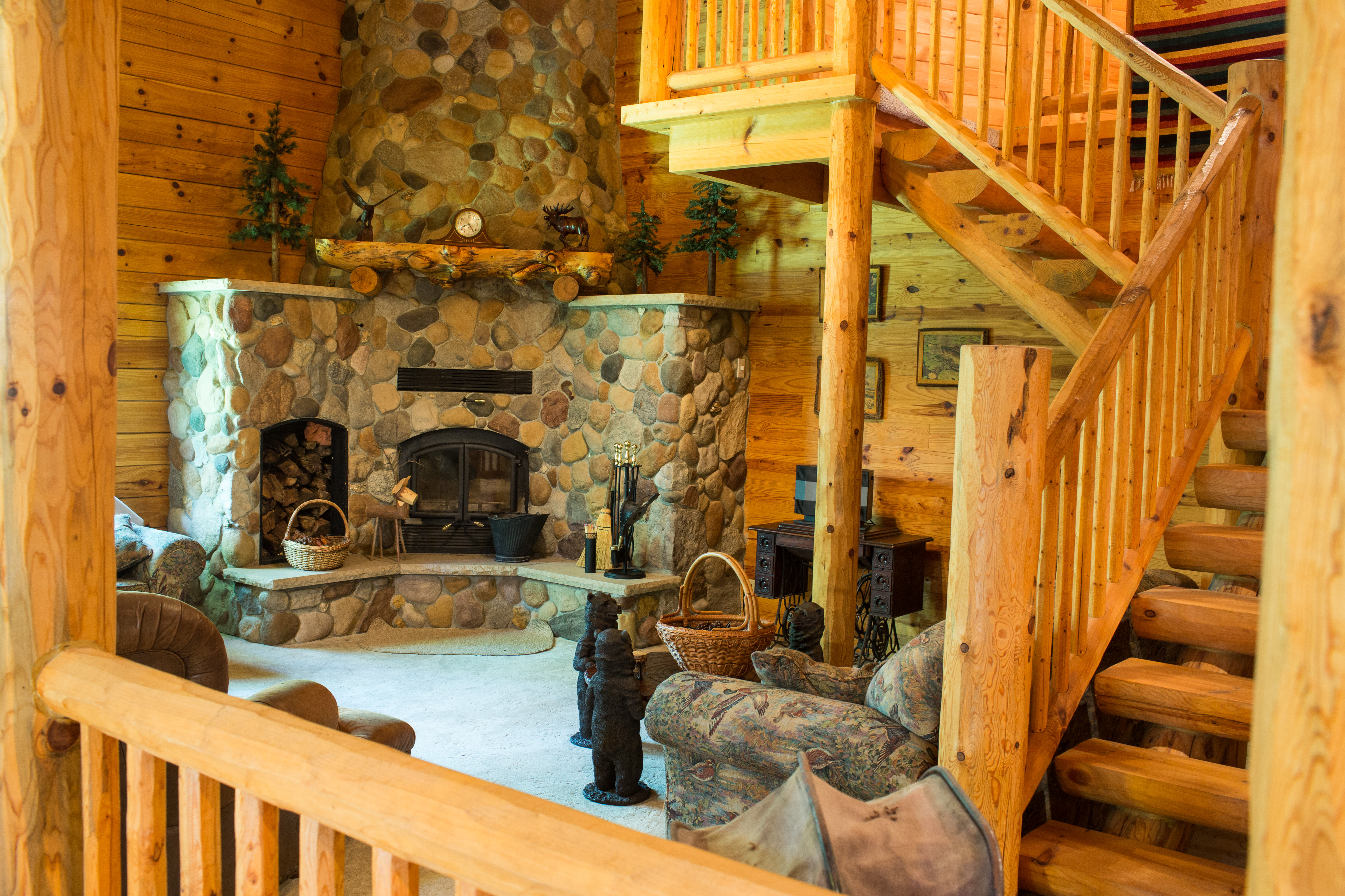 7585 woodland trail greenfield mn 55373 log home for sale