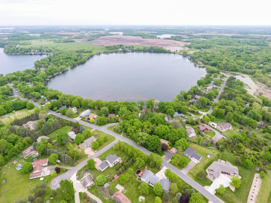 lake lots for sale wright county