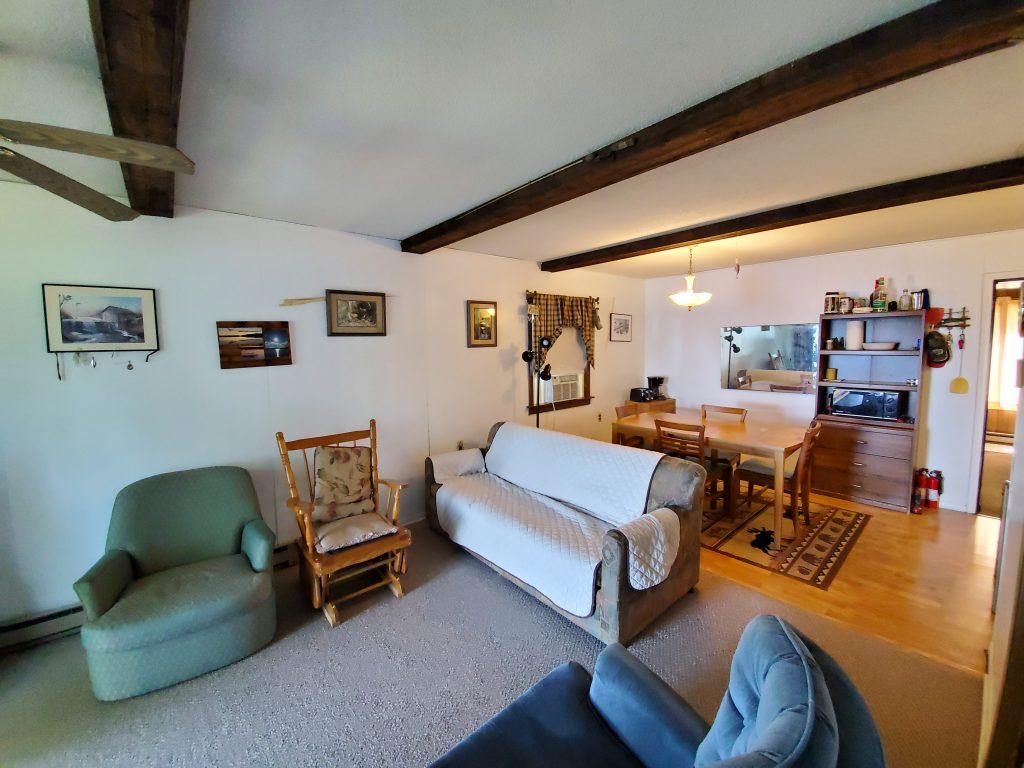 interior of mn cabin for sale