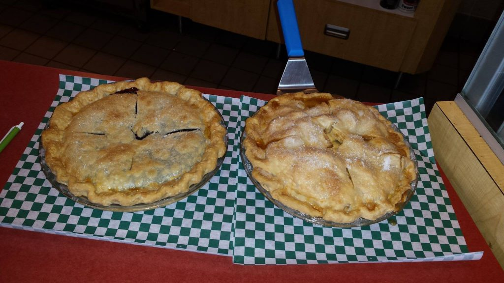 homemade pies at the greenrock deli in greenfield mn